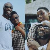 Beautiful Photos Cause Stir As Kwabena- Kwabena Shares Adorable Photos With His Grown Up Daughter