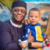 Every Child Deserves A Father Like FFK; See What His Son Did When He Wanted To Go Out