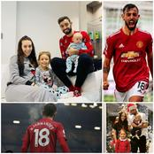 Meet The Beautiful Family Of Bruno Fernandes, Manchester United Star, His Lovely Wife And Children