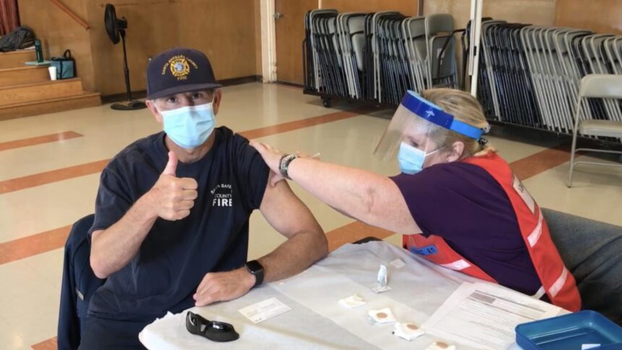 NH first responders receiving first shot of vaccine