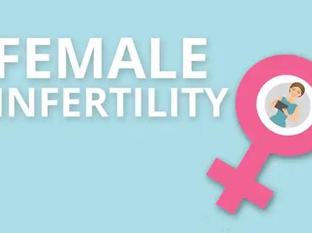 Major causes of infertility in women.