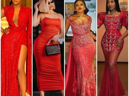 17 BBnaija Former Housemates Dazzling In Red Dress, Who Killed The Swag?