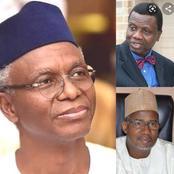 Today's Headlines: El-Rufai Has A Tender Heart, Says Adeboye, Igbo Not Ready For Presidency-Lawmaker