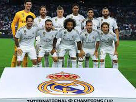 Madrid Full Squad Against Inter Milan, Ramos and Benzema Out As Casemiro Makes His Return.