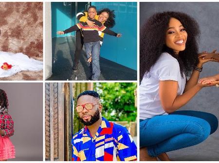 5 Nigerian celebrities whose kids are slaying like model