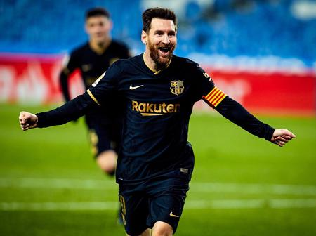 Barcelona football club reveal two new records Lionel Messi has broken (Photos)