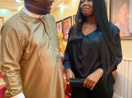 Your Smile Is As Beautiful As Ever, Fani-Kayode Says As He Shares Pictures Of His New Girlfriend