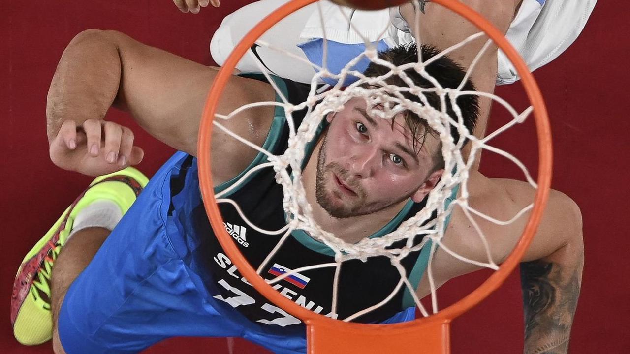 Jeux Olympiques 2020 - Basketball : Luka Doncic (Slovénie), superstar à Tokyo