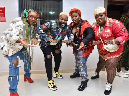Take a look at how celebrities dressed up for the premiere of Omo Ghetto the saga
