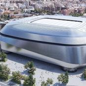 Check Out The Elegant New Look Of Real Madrid's Stadium.