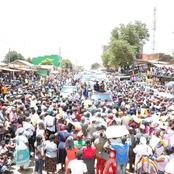 The Massive Turn Out At Raila's Rally Today