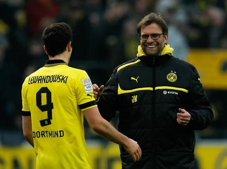 Lewandowski Described How His Bet With Klopp Contributed To His Remarkable Performance