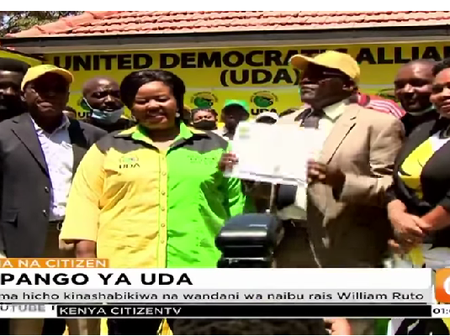 Blow As UDA Party Supporters Now Demand A New Candidate Other Than Bishop Wanjiru