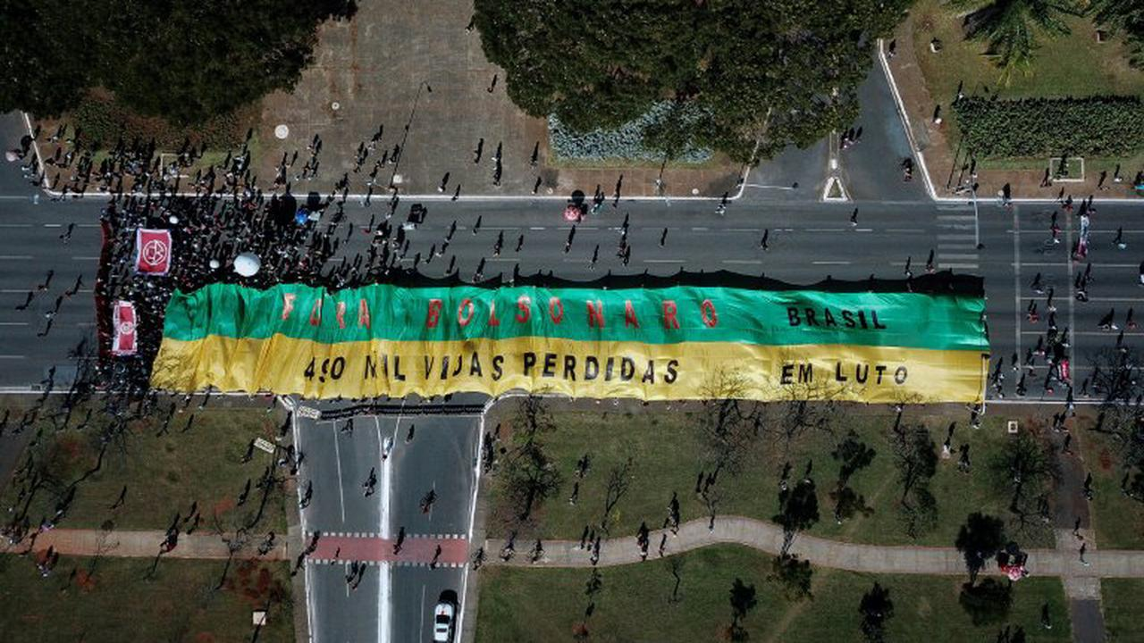 Zehntausende Brasilianer demonstrieren gegen Bolsonaros Corona-Krisenmanagement