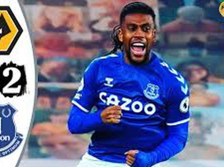 Iwobi scores first 2020-2021 EPL Goal as Tofees move 4th