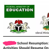 School RESUMPTION: Here Are States That Will Resume Academic Activities On 28th September, 2020.