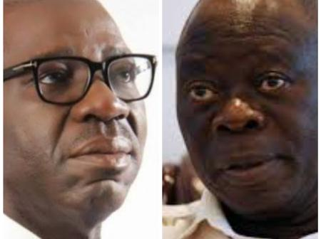 Opinion: If Obaseki Could Win Against Oshiomhole In Edo, He Might Contest For Presidency In 2023