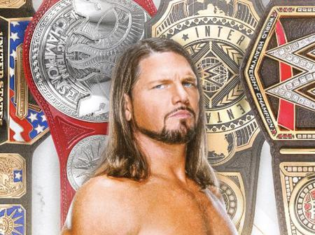 Checkout The WWE History AJ styles made after Raw Tag Team Title win