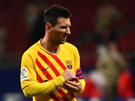 Messi left out of Barcelona squad against dynamo Kiev