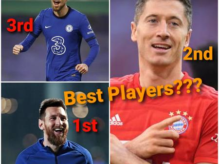 Not Mount Or Kante, See The Chelsea Player Named The Third Best Player In The World By CIES Football