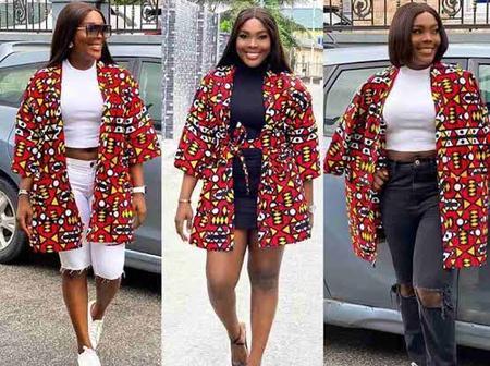 35 Beautiful Ankara Kimono Jackets For Ladies