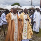 Eglise Catholique/La paroisse d'Akouré reçoit son premier curé: la surprise faite par ses amis