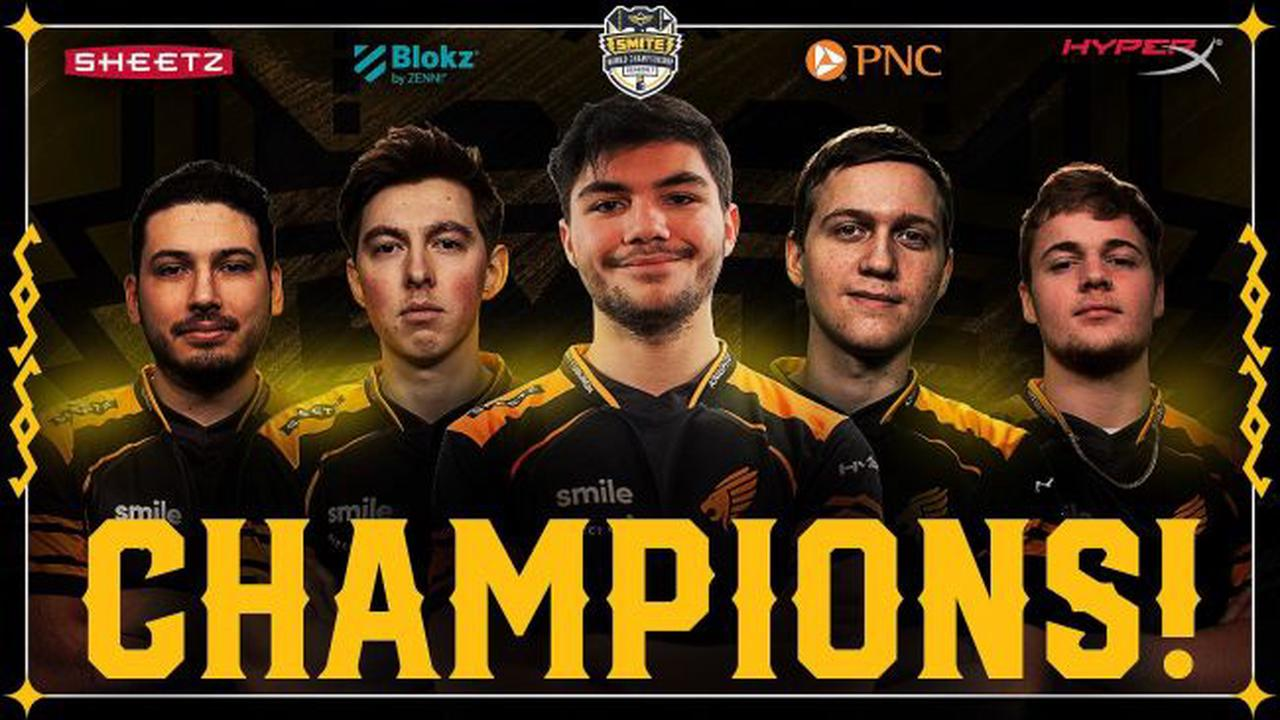 Les Pittsburgh Knights sont Champions du Monde de Smite