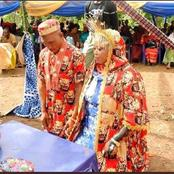 Look At The Traditional Wedding Pictures Of An Igbo Man And Muslim Bride That Got People Talking