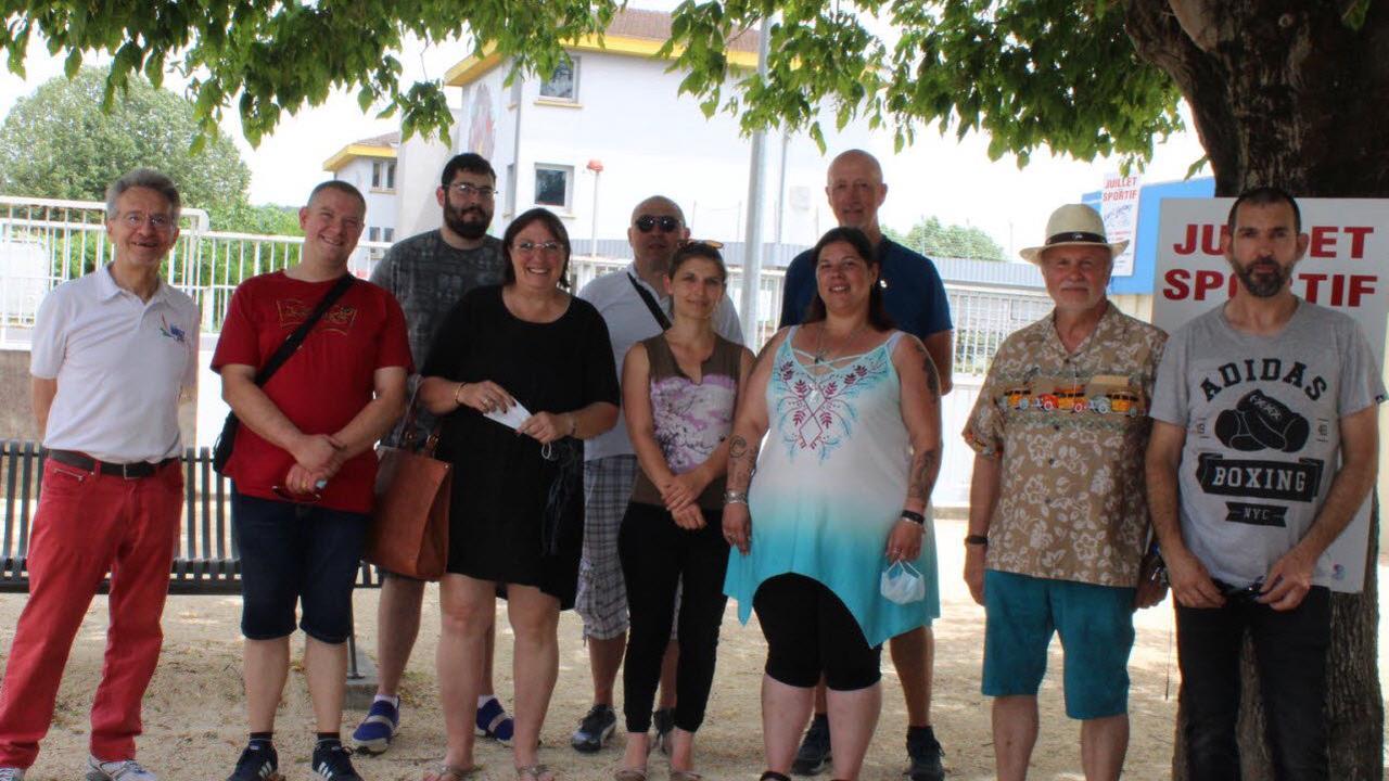 Salaise-sur-Sanne Le bureau des Archers du Rhodia a été réélu