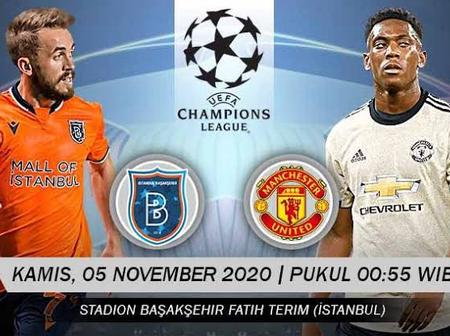 OPINION: 2 Reasons Why Man United Must Win Against Istanbul Basaksehir In The UEFA Champions League.