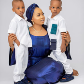 Former Queen of Alaafin, Queen Ajoke Celebrates Her Twin Boys at 3!