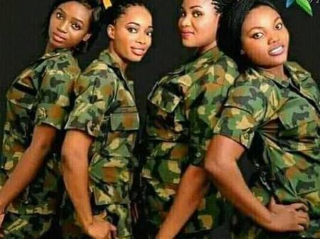 Between Ladies from the Nigerian Army and the Police Force, Who Has the Most Swag? (See Photos)