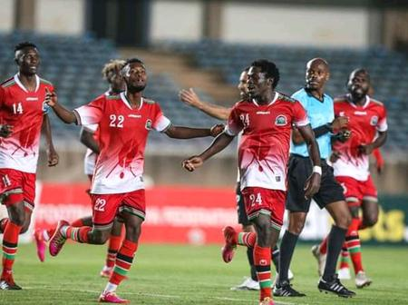 Kenya Two Places Up In The Latest FIFA Rankings