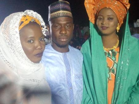 People React As Another Nigerian Man Marries Two Wives At The Same Time