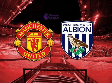 Manchester united vs West Brom; watch how united set to win their first home game this season