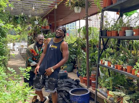 Rudeboy shows his huge sense of humor with Timaya with photos
