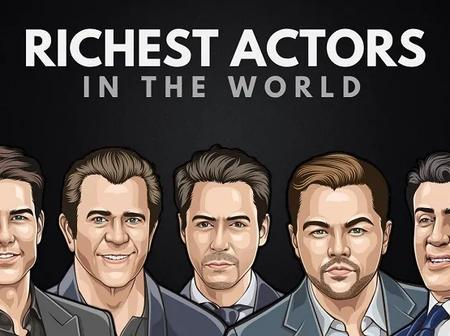 TOP 10 Richest Actors In The World