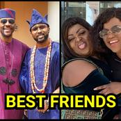 Check Out Photos Of 11 Nigerian Celebrities Who Are Best Friends.