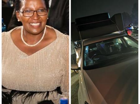 It Ended In Tears For Gauteng MEC Ater She Made Fun OF A Polo Driver Who Failed To Hire A Van