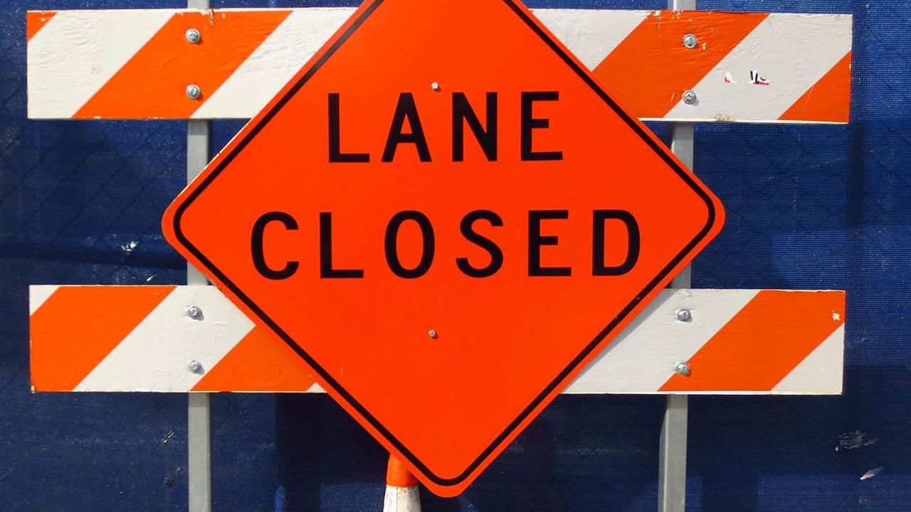 Lane closures expected due to flagging operations in Berkeley County