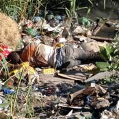 A man found murdered and dumped in the pond