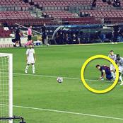 Messi's behavior during Suarez' penalty shows the confidence he has in his teammate