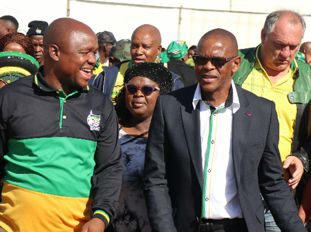 Malema: ANC Structures Love Magashule, They Love Him Like That With All These Scandals