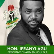 Official STATEMSENT of the Chairman of Udi LGA on the Occasion of First One Year in Office