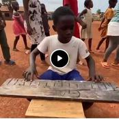 (Video) See What This Kids Were Spotted Doing