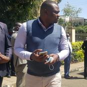 Drama in Matungu as Former CS Rashid Echesa Slaps an IEBC Official (VIDEO)