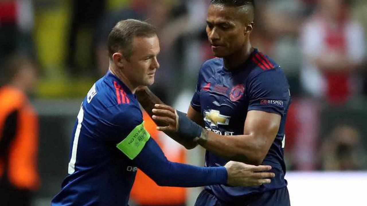 Wayne Rooney tribute to retiring Antonio Valencia – Thursday's sporting social