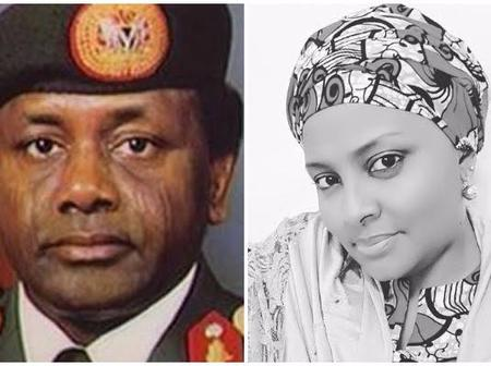 22 years after the Death of Sani Abacha, See Recent pictures of his daughter with her family