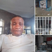 """I Collect Loan And Open Shop, Protesters Busted It And Packed Everything"" - Nigerian Man Cries Out"