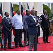 Top Jubilee Official Lead Reactions to Uhuru's Meeting With Party Leaders